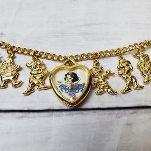 Disney Snow White Watch Charm Bracelet